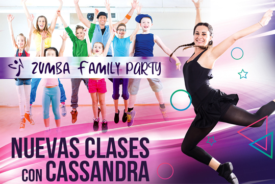 Taller Zumba Family Party